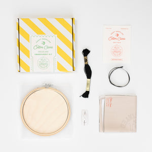 We Stayed Home in 2020 Embroidery Hoop Kit