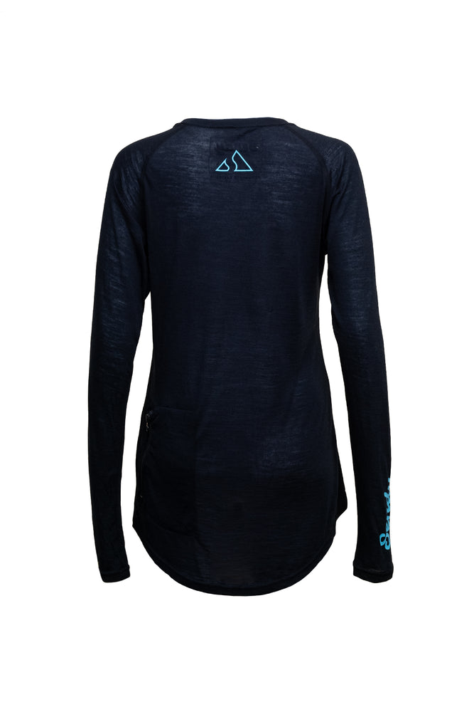 Send It Women's Long Sleeved MTB Jersey | The Merry Merino