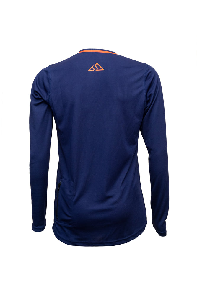 Send It Adults Long Sleeved MTB Jersey | Bold Blue