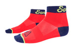 Kids MTB Socks - Red Mist