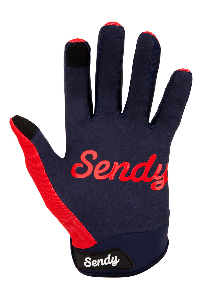 Send It Adults MTB Glove | Full Send Neon Punch
