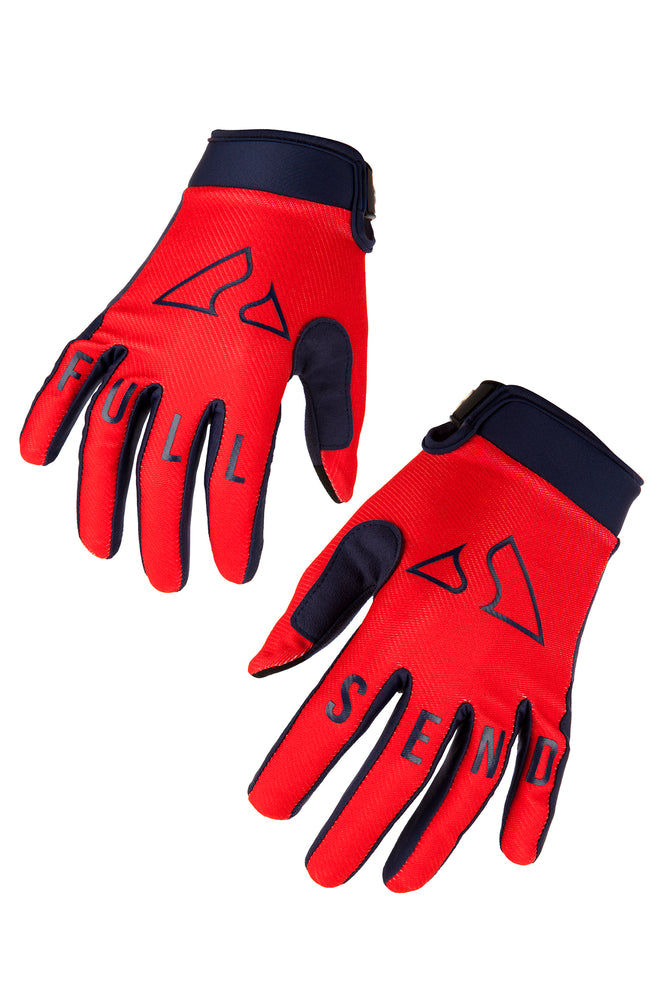 Send It Kids MTB Glove | Full Send Neon Punch