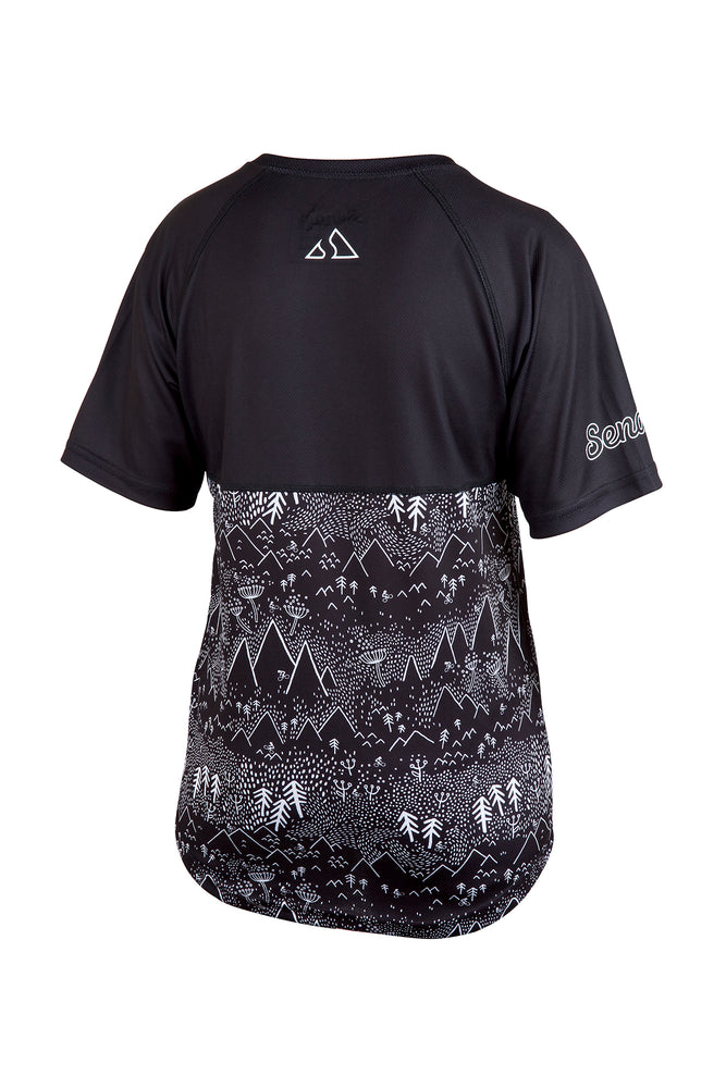 Send It Kids Short Sleeved MTB Jersey | Shred Forest