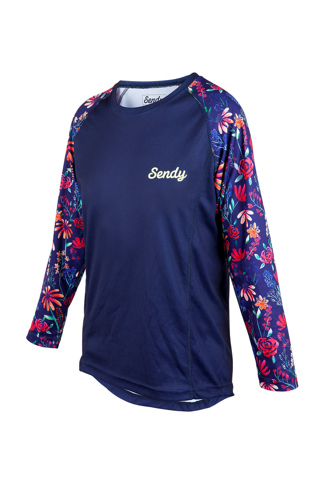 Send It Kids Long Sleeved MTB Jersey | The Wildflower
