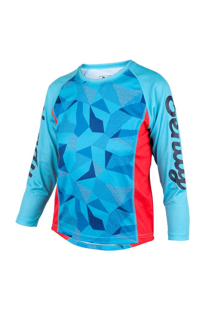 Send It Adults Long Sleeve MTB Jersey | Whacko Camo
