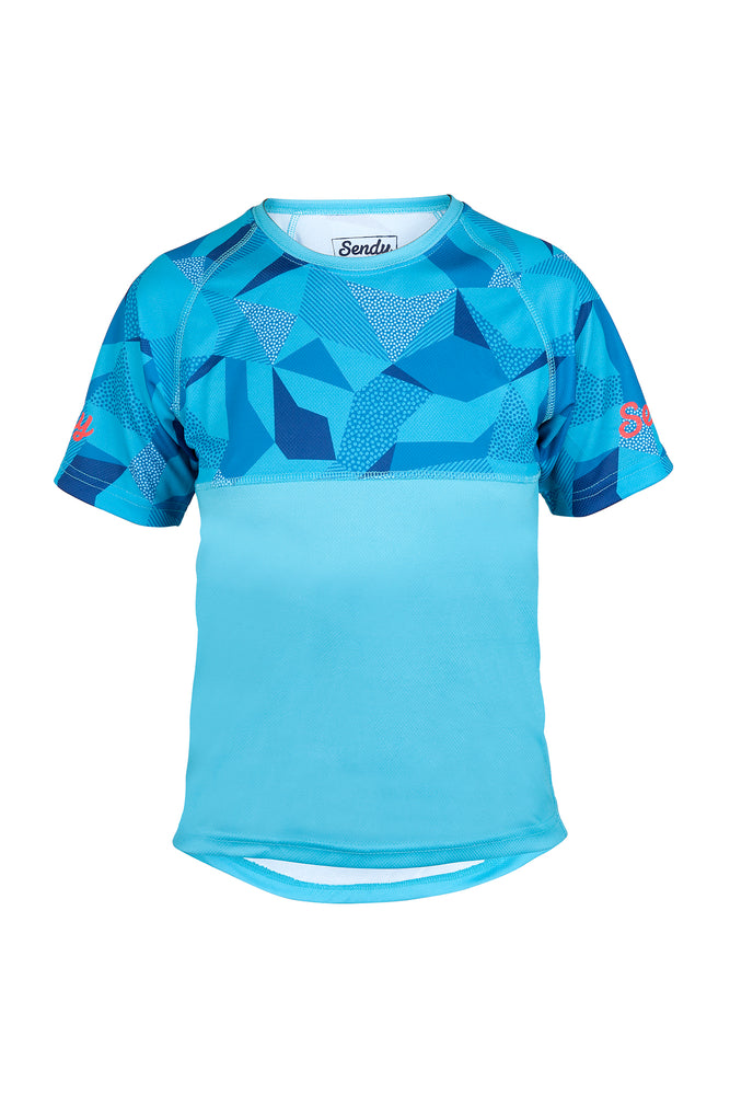 Send It Adults Short Sleeved MTB Jersey | Whacko Camo