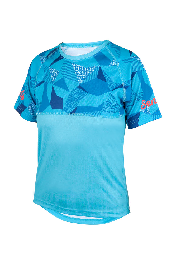 Send It Kids Short Sleeved MTB Jersey | Whacko Camo