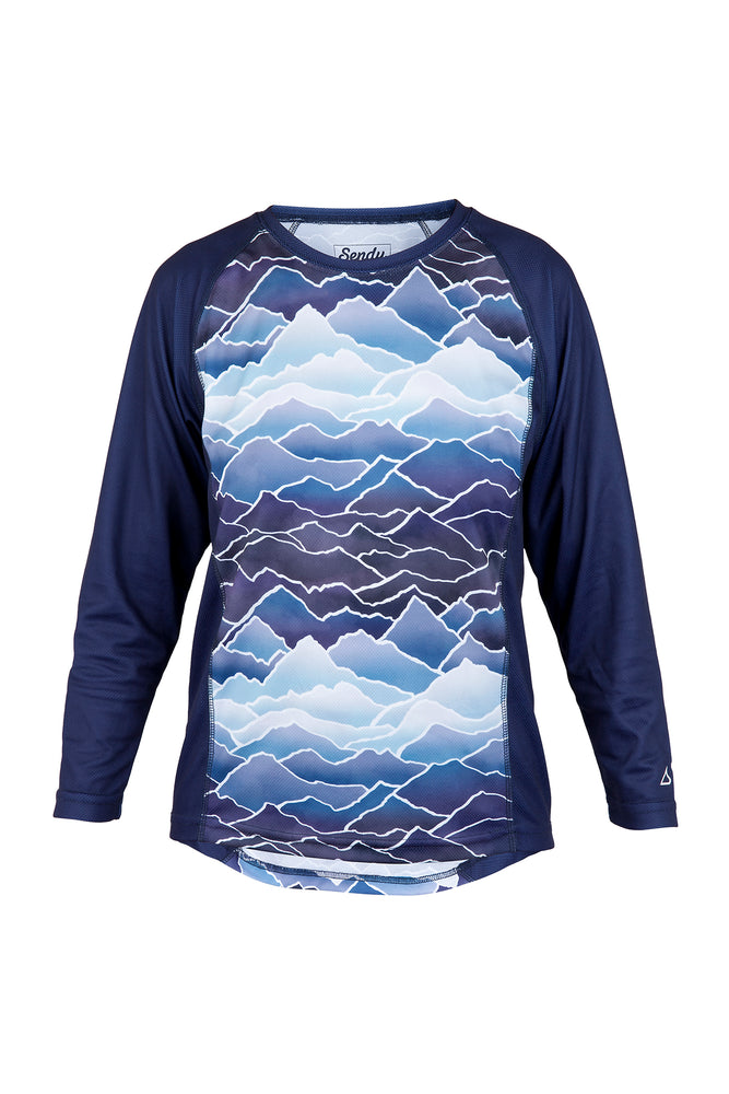 Send It Adults Long Sleeved MTB Jersey | Peaky