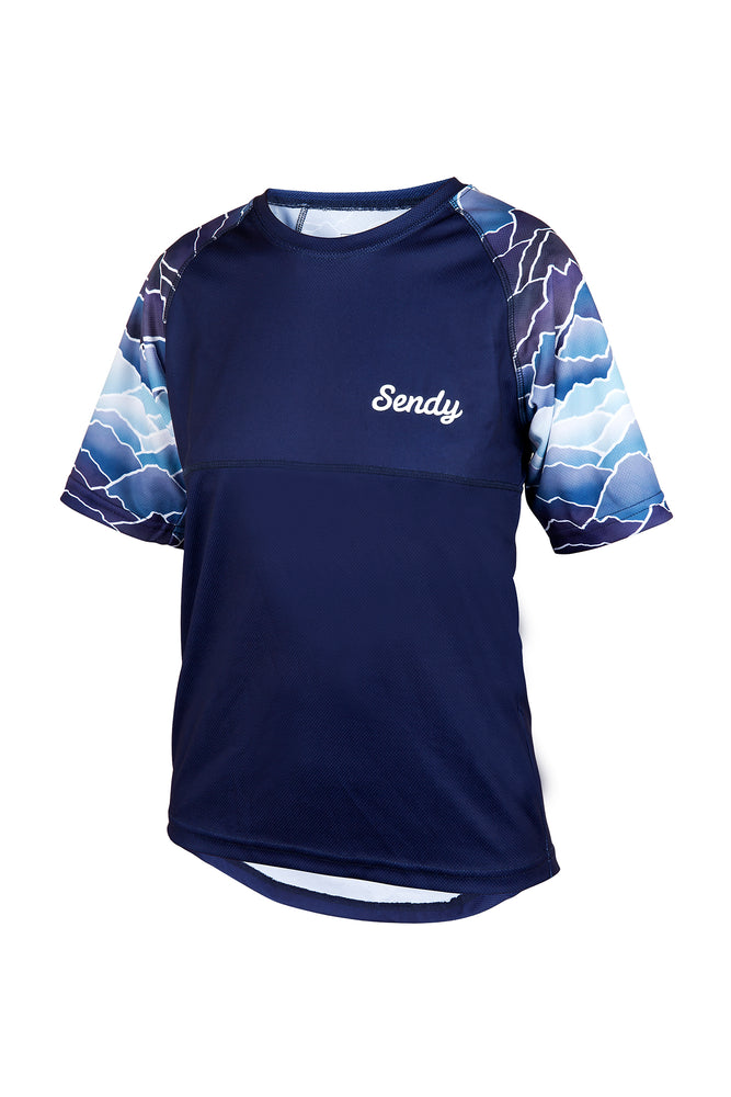 Send It Kids Short Sleeved MTB Jersey | Peaky