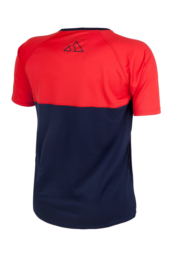 Send It Adults Short Sleeved MTB Jersey | Neon Punch