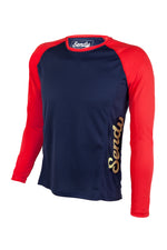 Send It Adults Long Sleeved MTB Jersey | Neon Punch