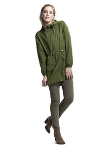 RAINCOAT GREBBESTAD - FOREST GREEN