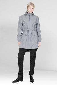 RAINCOAT GREBBESTAD RAIN RUBBER - STONE GRAY