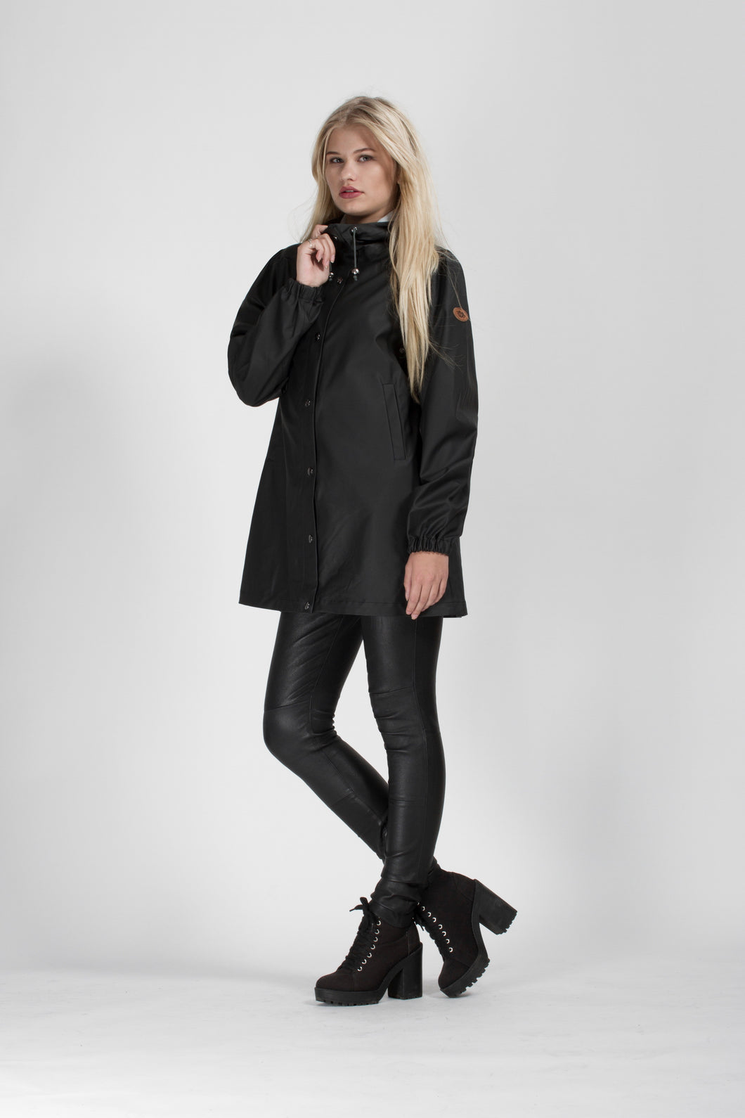 RAINCOAT BERGEN - NIGHT BLACK