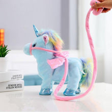 Load image into Gallery viewer, LOVELY ELECTRIC WALKING UNICORN PLUSH TOY
