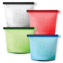 Load image into Gallery viewer, Reusable Silicone Food Bag - Versatile Kitchen Cooking Utensil