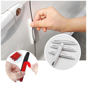 Car door anti-collision strips