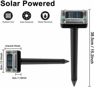 (Only Today 70% OFF)Solar Ultrasonic Repeller