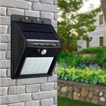 Load image into Gallery viewer, Solar Waterproof Wall Light