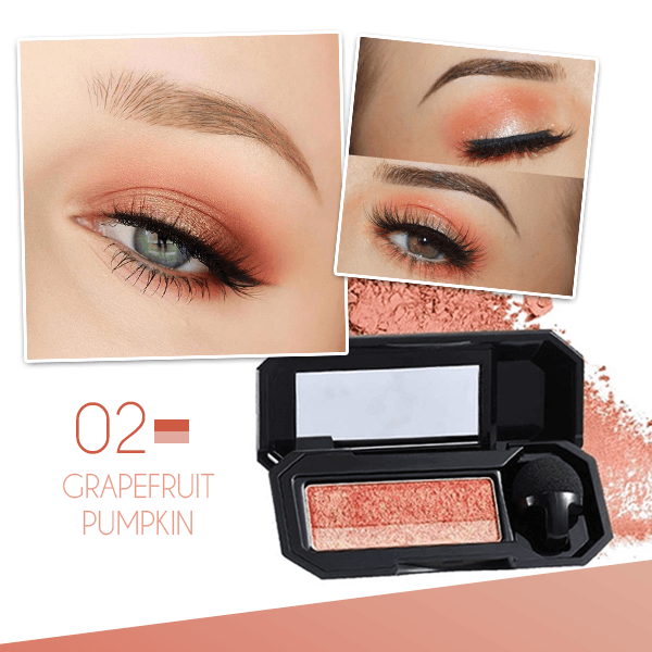 (SUMMER HOT SALE- Save 50% OFF) Perfect Dual-color Eyeshadow