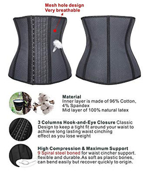 【SALE】100%Latex Breathable Corset