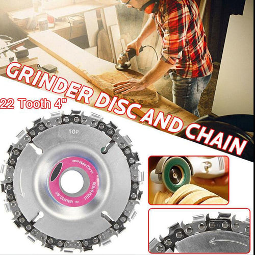 Multifunction chain carving disc-60%OFF