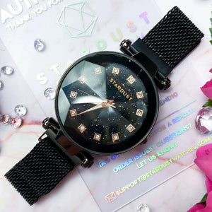 STARDUST™ - 2020 Diamond Cutting Mesh Band Watch