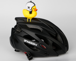 Broken Wind Duck with Helmet