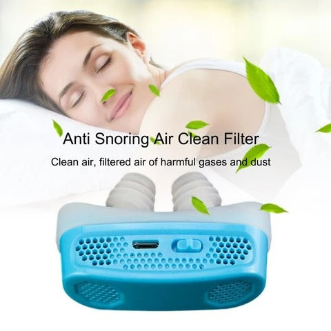 Today 50% OFF-Micro CPAP Anti Snoring Electronic Device