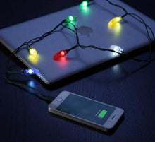 Load image into Gallery viewer, Christmas Lights Phone Charging Cable
