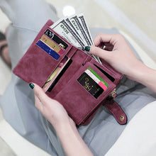 Load image into Gallery viewer, Women's Tri-Fold Wallet