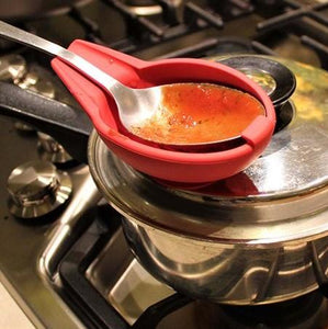 (Buy 2 get 1 free)Multi-Function Suction Cup Cooking Spoon Holder