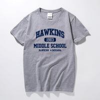 Hawkins Middle School Tee - Schwifty Direct