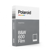 B&W Polaroid 600 Instant Film Single Pack Box - Angle