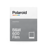 B&W Polaroid 600 Instant Film Single Pack Box - Front
