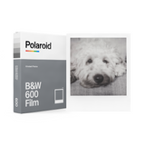 B&W Polaroid 600 Instant Film Single Pack Box with Sample Photo