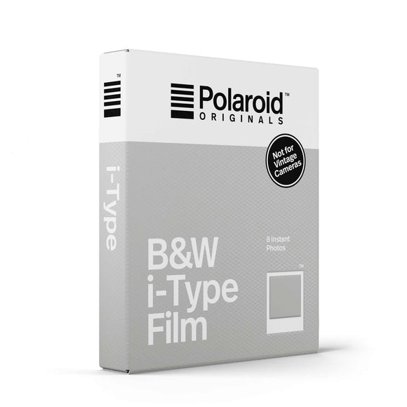 B&W Polaroid i-Type Instant Film Single Pack Box - Angle