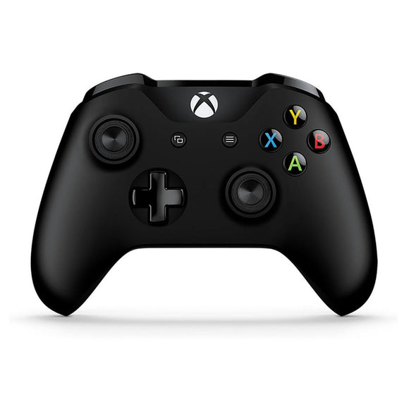 Black Microsoft Wireless Controller for Xbox One - Front