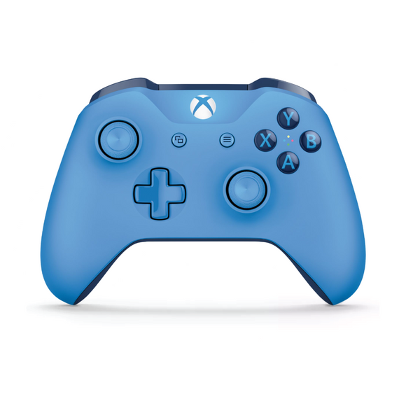 Blue Microsoft Wireless Controller for Xbox One - Front