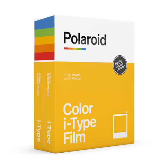 Color Polaroid i-Type Instant Film Double Pack Box - Angle