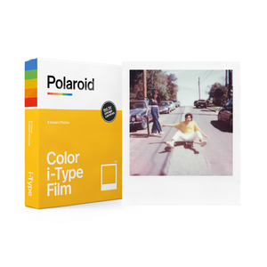 Color Polaroid i-Type Instant Film Single Pack Box with Sample Photo