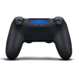 Jet Black Sony DualShock 4 Wireless Controller for PlayStation 4 -  Back
