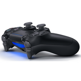 Jet Black Sony DualShock 4 Wireless Controller for PlayStation 4 - Left Side