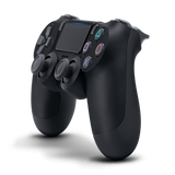 Jet Black Sony DualShock 4 Wireless Controller for PlayStation 4 - Right Side