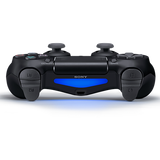 Jet Black Sony DualShock 4 Wireless Controller for PlayStation 4 - Top