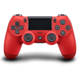 Magma Red Sony DualShock 4 Wireless Controller for PlayStation 4 - Front