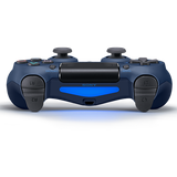 Midnight Blue Sony DualShock 4 Wireless Controller for PlayStation 4 - Top