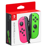 Neon Pink/Neon Green Joy-Con (L/R) Wireless Controllers for Nintendo Switch Box - Front