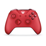 Red Microsoft Wireless Controller for Xbox One - Front
