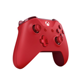 Red Microsoft Wireless Controller for Xbox One - Left Side